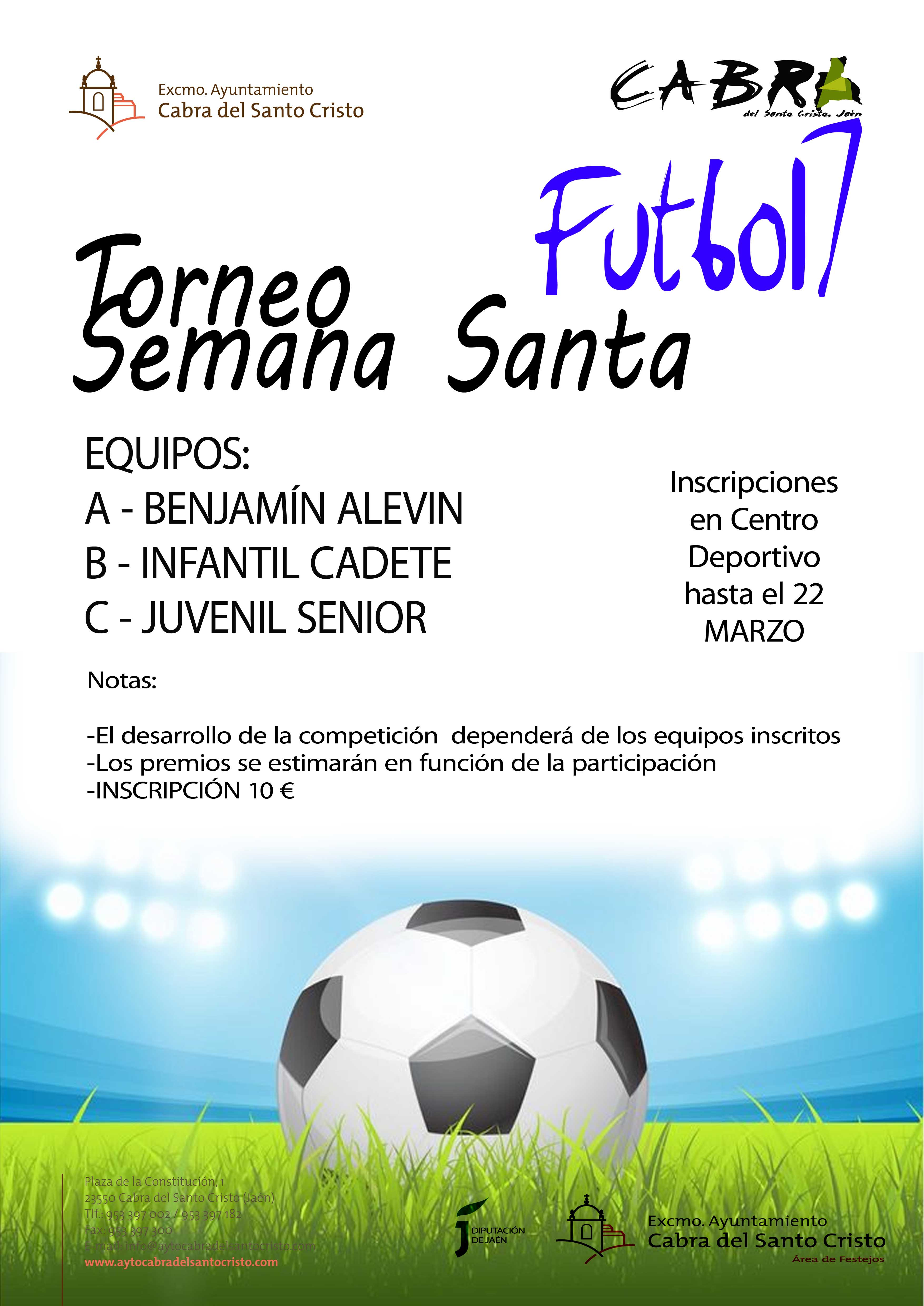 Torneo Local Fútbol 7 de Semana Santa
