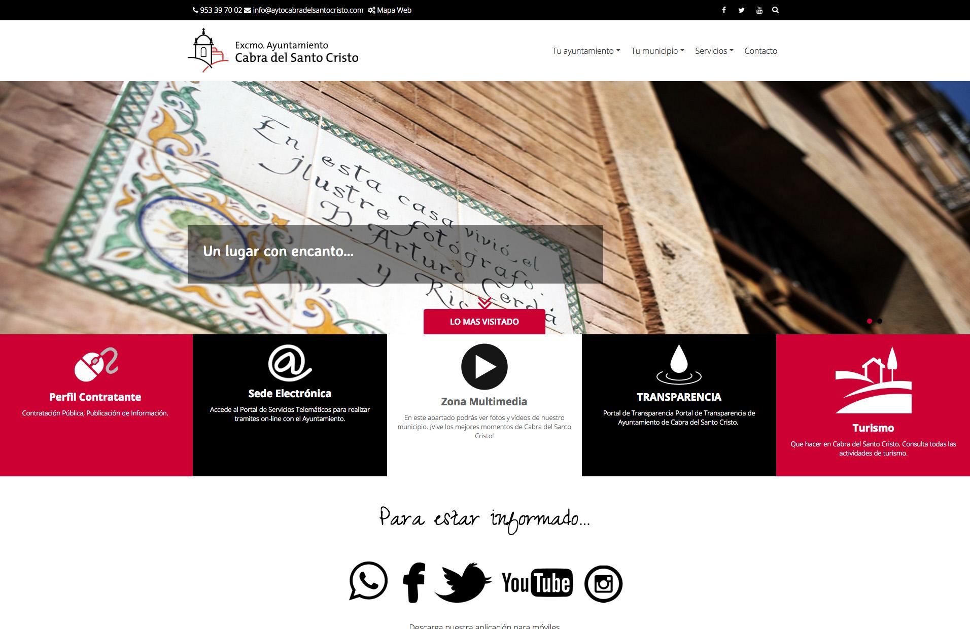 Nueva web municipal