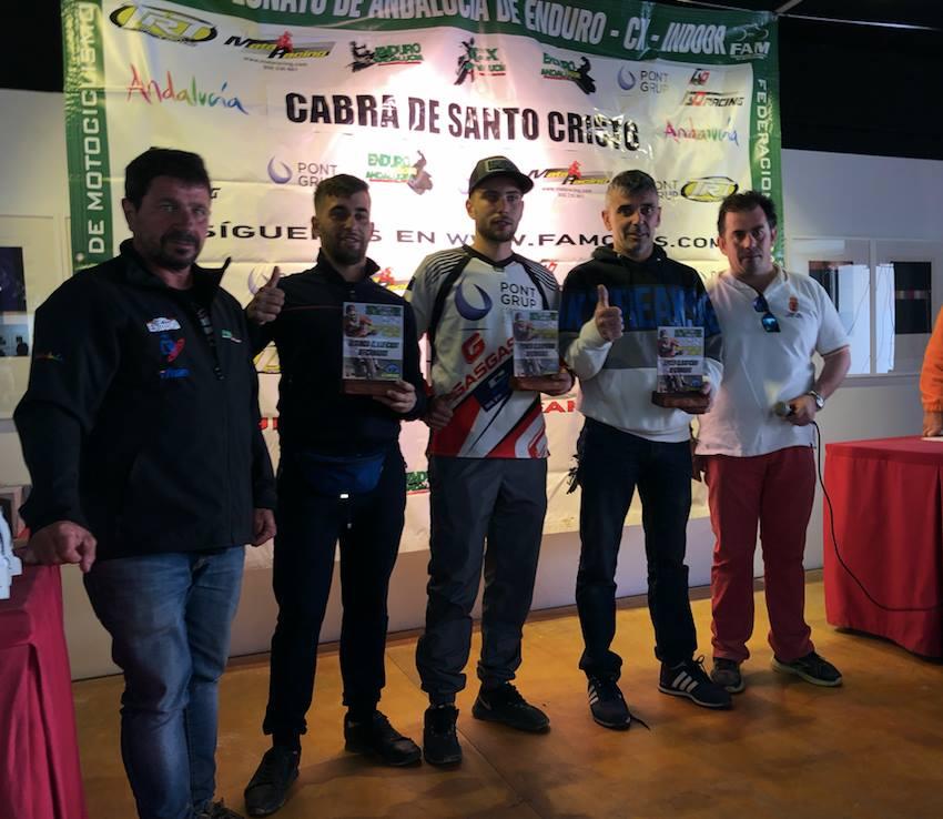Cabra del Santo Cristo acoge la tercera prueba puntuable del Campeonato de Andalucía y Madrid de Enduro.