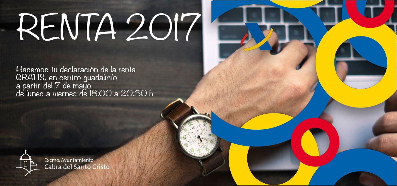 Campaña gratuita de confección de la declaración de la renta 2017