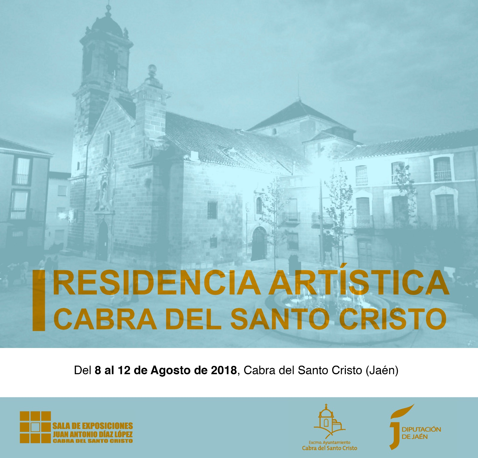 Primera Residencia de Artistas Contemporáneos promovida por el Ayuntamiento de Cabra del Santo Cristo.
