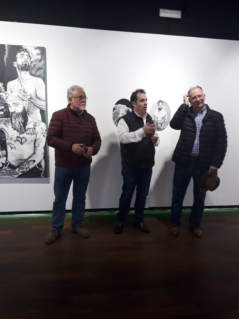 Exposición colectiva de la Primera Residencia Artística 2018 en Cabra del Santo Cristo, Jaén