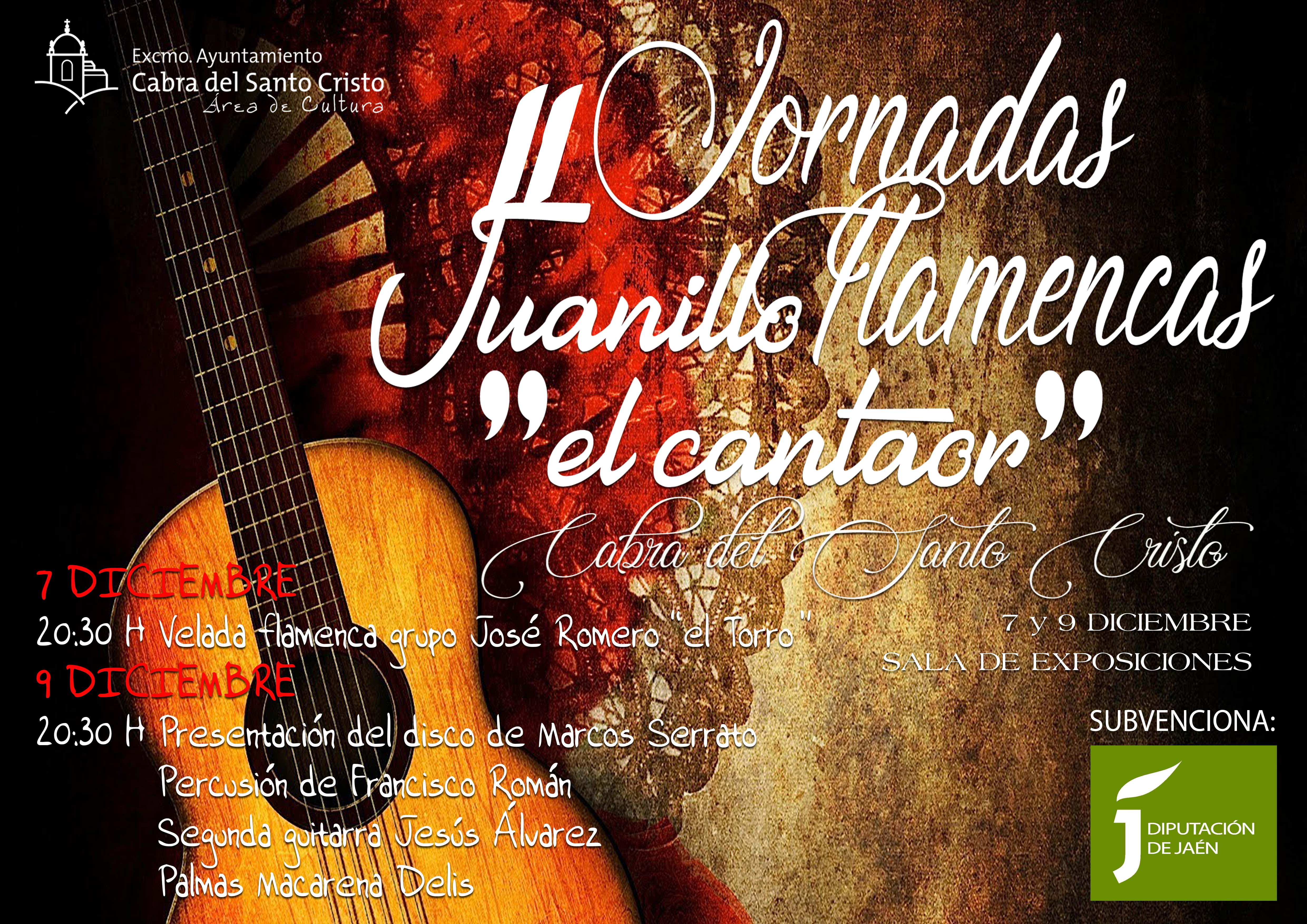 II JORNADAS FLAMENCAS JUANILLO EL CANTAOR