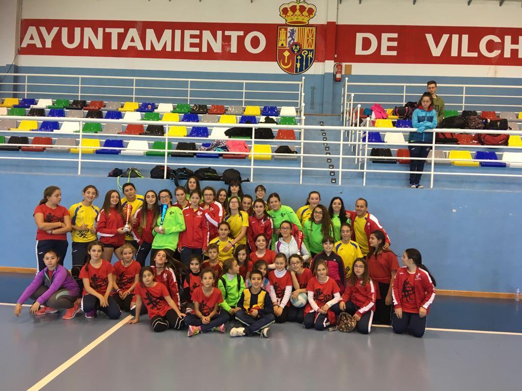 Torneo de voleibol en Vilches