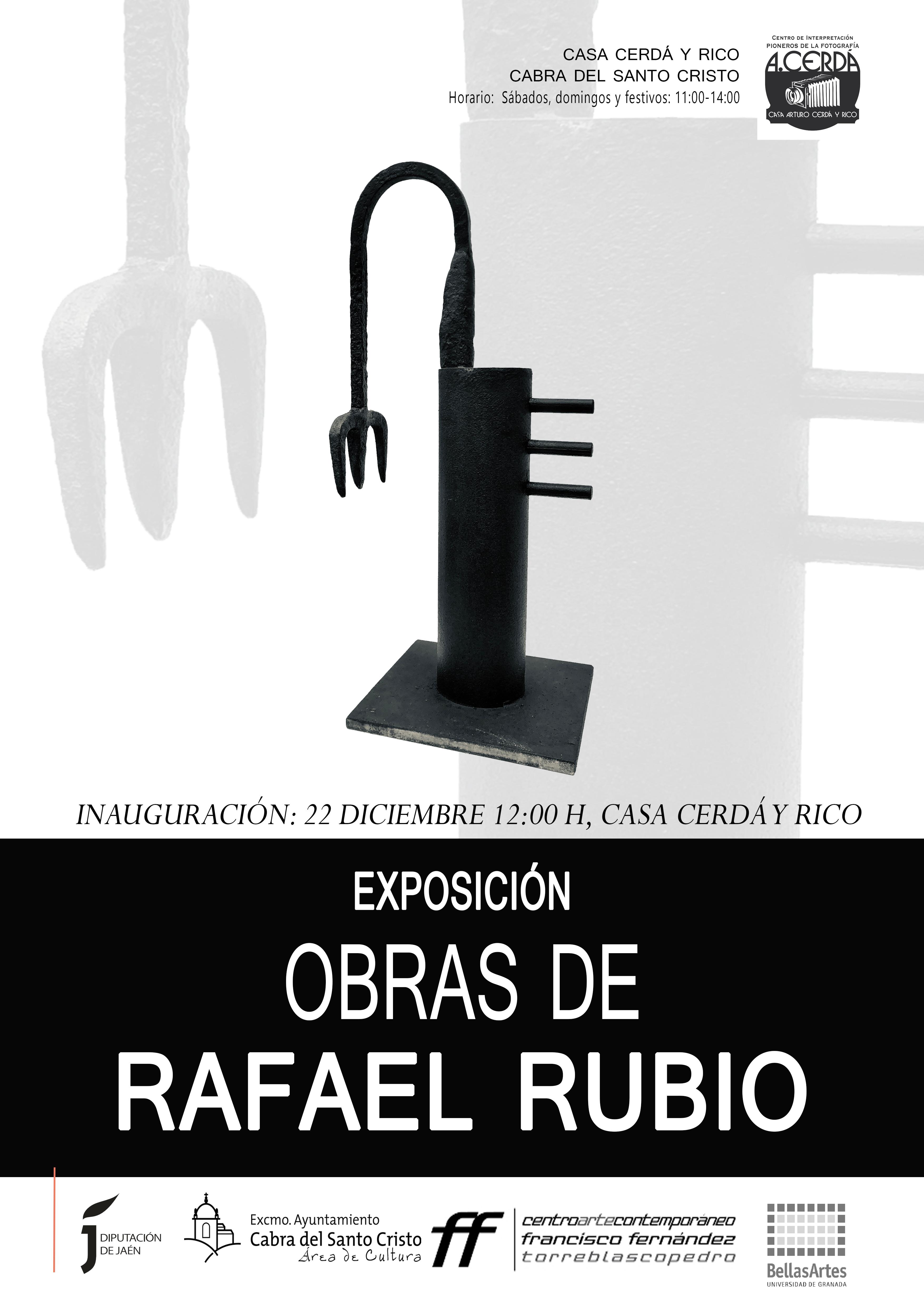 """Inauguración de la exposición """"OBRAS DE RAFAEL RUBIO"""""""