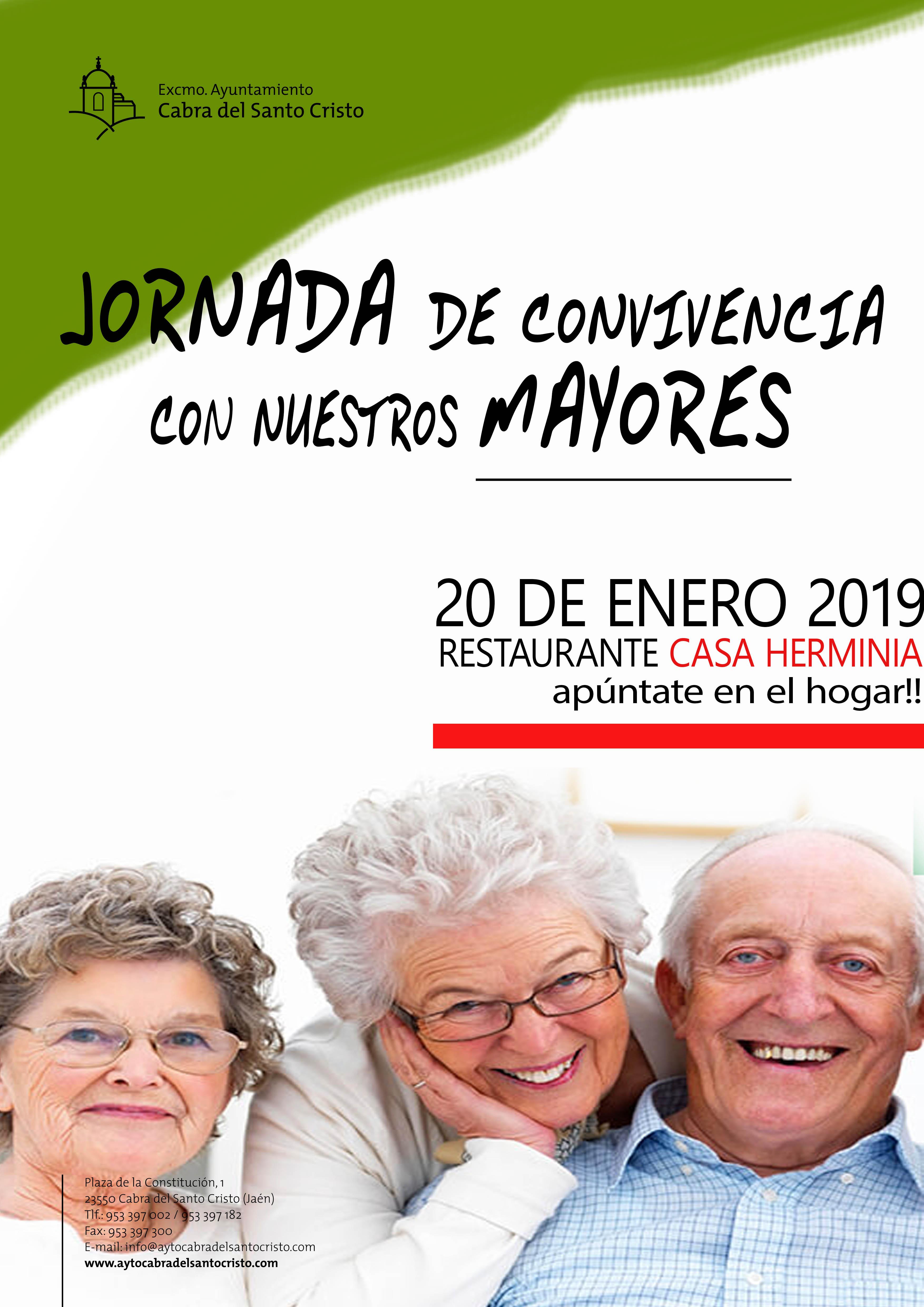 Jornada de convivencia con nuestros mayores