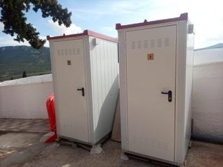 Adquisición de nuevos WC portátiles