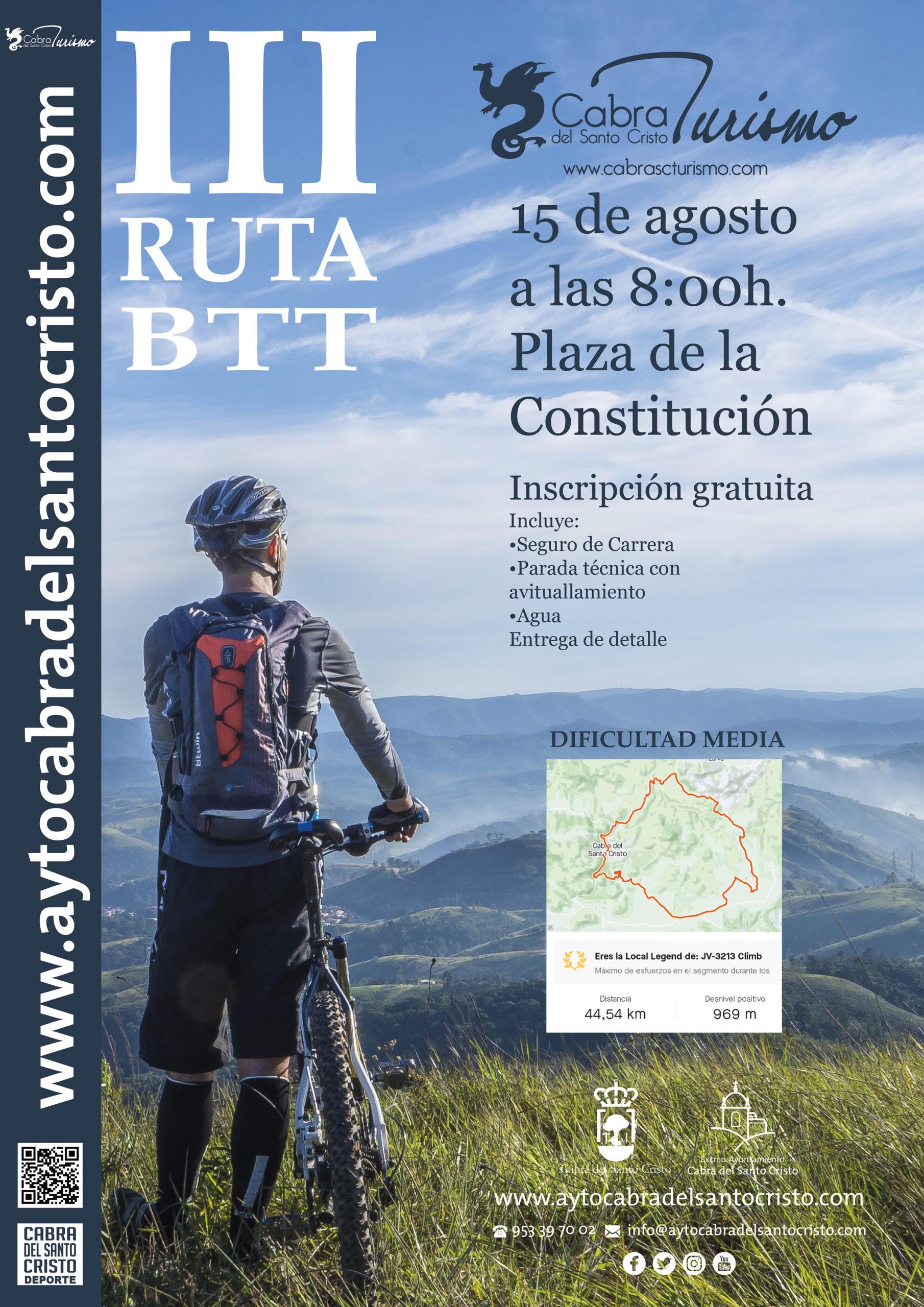 III Ruta BTT