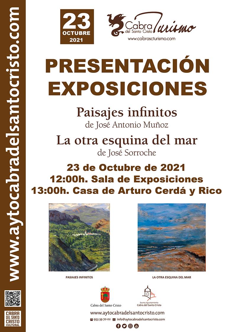Inauguración Exposiciones